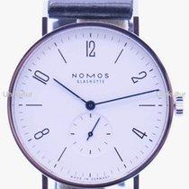 NOMOS Tangente 38 Stahl 37,5mm Deutschland, Duisburg/München/Linz