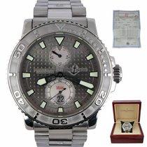 Ulysse Nardin Maxi Marine Diver Steel 40mm Silver United States of America, New York, Smithtown