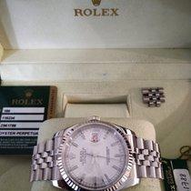 Rolex Datejust Сталь 36mm Белый Без цифр