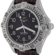 Breitling Colt Automatic Steel 38mm Black Arabic numerals United States of America, Texas, Dallas