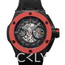 Hublot Big Bang Ferrari nuevo Automático Reloj con estuche y documentos originales 402.QF.0110.WR