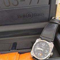 Bell & Ross Steel 42mm Automatic BR0393-GMT-ST/SCA new