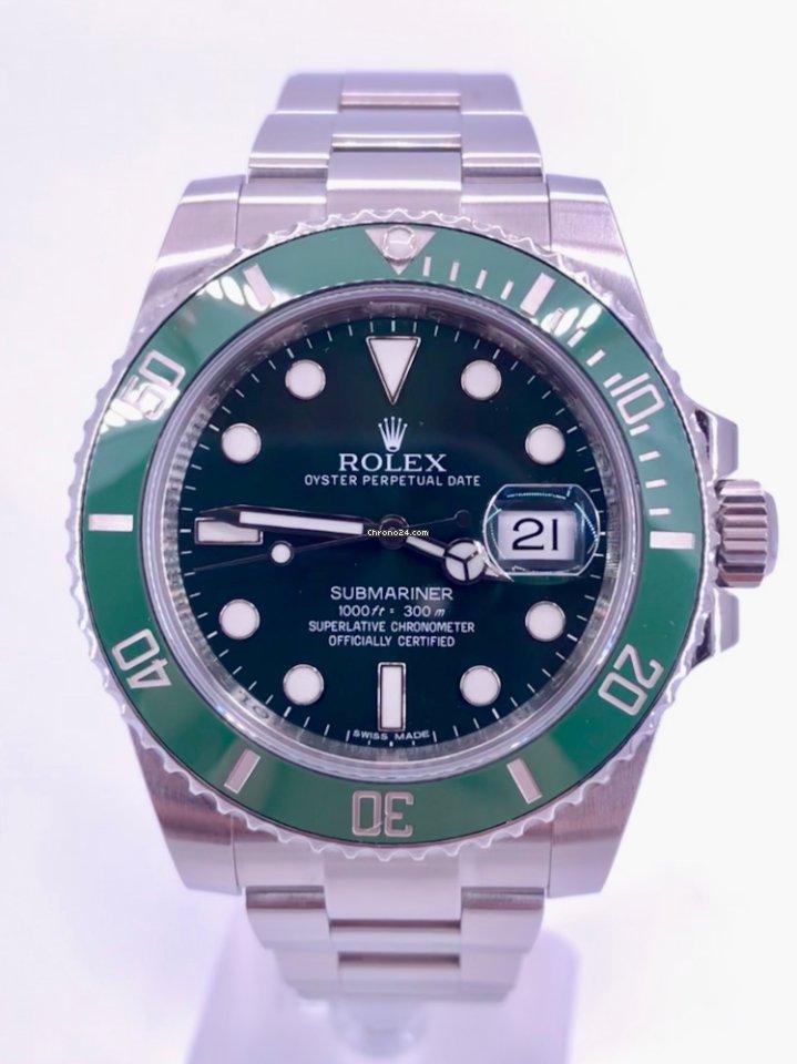 Rolex Submariner Date Hulk MINT 116610LV