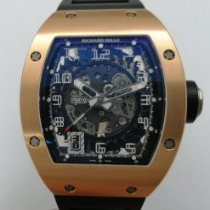 Richard Mille RM 010 Ruzicasto zlato Proziran