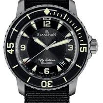 Blancpain Титан 45mm Автоподзавод 5015 12B30 NABA новые