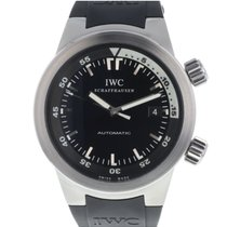 IWC Aquatimer Automatic pre-owned 42mm Date Rubber