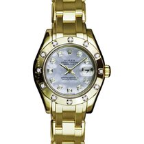 Rolex Lady-Datejust Pearlmaster 80318 Sehr gut 29mm