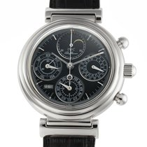 IWC Da Vinci Perpetual Calendar Steel 39mm Black United States of America, New York, New York