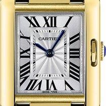 Cartier nowość Kwarcowy 30.2mm Żółte złoto Szkiełko szafirowe