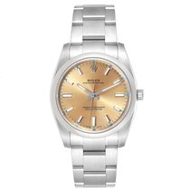 Rolex Oyster Perpetual 34 114200 2016 pre-owned