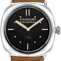 Panerai Radiomir 3 Days 47mm novo Corda manual Relógio com caixa original PAM00425