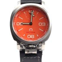 Anonimo Militare 2004 hand wind orange dial