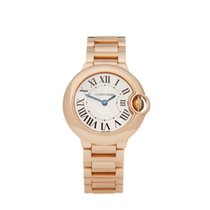 Cartier Ballon Bleu 28mm Rose gold 28mm White Roman numerals United Kingdom, Bishop's Stortford