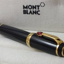 Montblanc BOHEME BLACK & GOLD RETRACTABLE 14 CARATS NEW