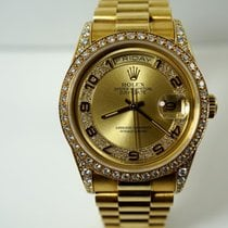 Rolex Presidential Day-Date factory diamonds 1990