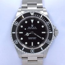 Rolex Submariner 14060 Oyster Stainless Steel Black Dial Watch...