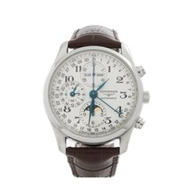 Longines Master Collection MoonPhase Stainless Steel Men's...