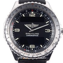 Breitling A56012.1 Steel 1996 Chronospace 42mm pre-owned