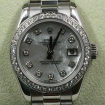Rolex Платина Автоподзавод Перламутровый 26mm подержанные Lady-Datejust