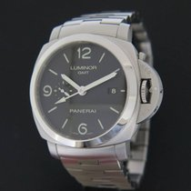 Panerai Luminor 1950 3 Days GMT Automatic tweedehands 44mm Staal