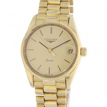 Longines Vintage 60-3439-22 Yellow Gold 31mm