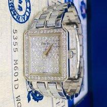 伯爵 24mm 石英 1999 二手 白色