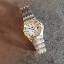 Omega Constellation Ladies Goud/Staal 31mm Parelmoer