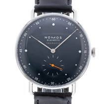 NOMOS Metro Neomatik 1115 Watch with Leather Bracelet and...