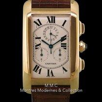 Cartier Tank Américaine occasion 44mm Or jaune