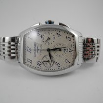 f26dc9555bb Longines Evidenza Chronograph Steel Bracelet with Box