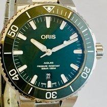 Oris Aquis Date 01 733 7730 4157-07 8 24 05PEB new