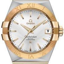 Omega Constellation Men Steel 38mm Silver Roman numerals United States of America, California, Moorpark