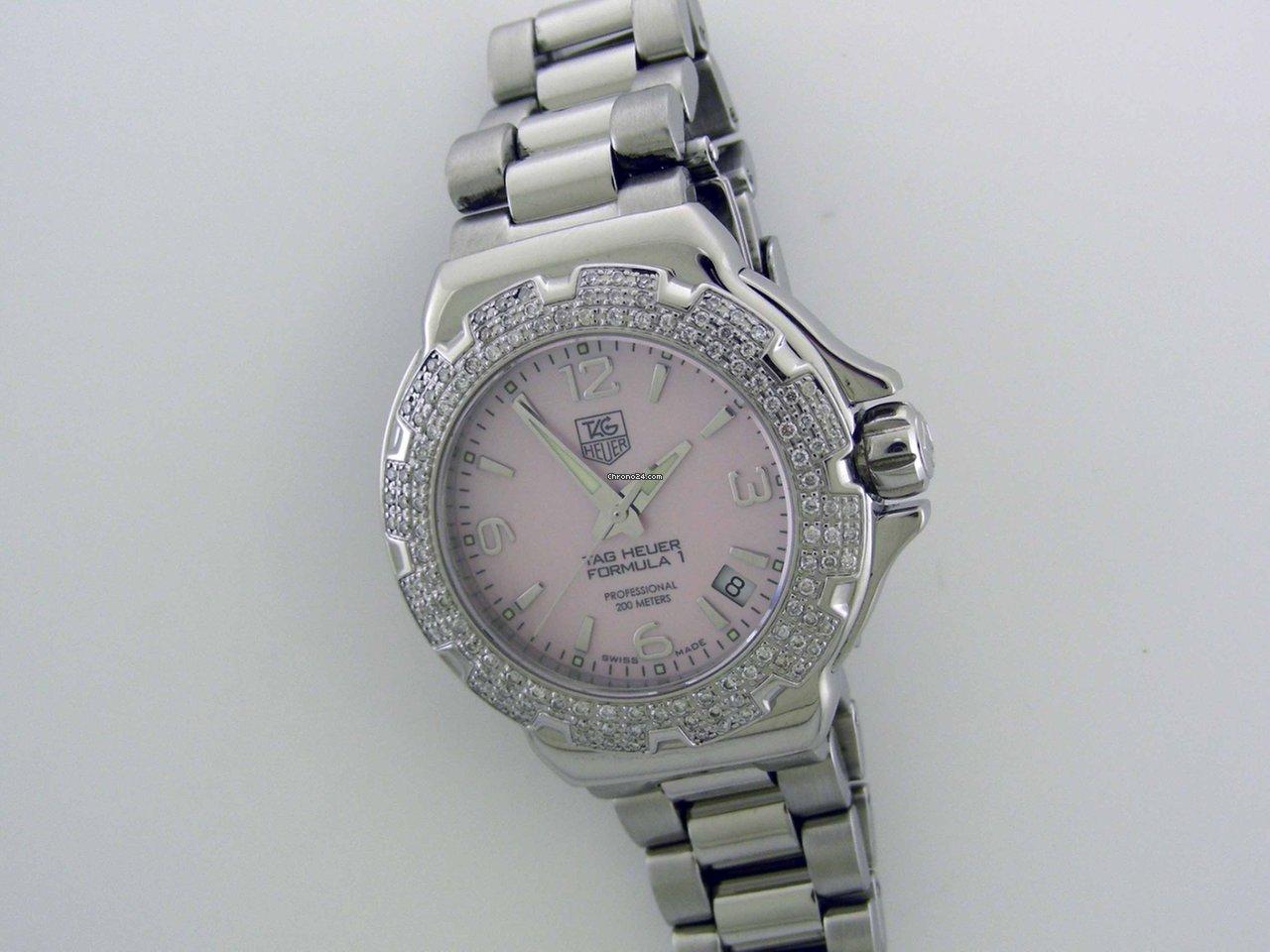 Ceny dámských hodinek TAG Heuer  cd907ee8000