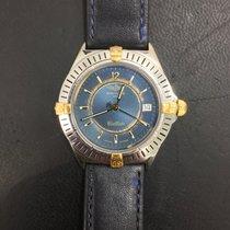 Breitling Callisto Staal 33mm Blauw