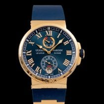 Ulysse Nardin Marine Chronometer Manufacture 1186-126-3/43 New Rose gold 43mm Automatic