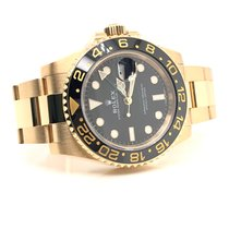 Rolex 116718LN Yellow gold 2018 GMT-Master II 40mm pre-owned United States of America, New York, New York