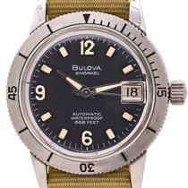 Bulova Steel 34mm Automatic 386 pre-owned