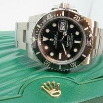 Rolex Ceramic Automatic Black No numerals new Submariner Date