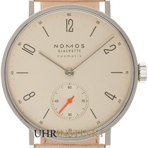 NOMOS Tangente Neomatik Staal 35mm Champagne