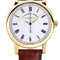 A. Lange & Söhne Yellow gold Manual winding Silver Roman numerals 40.5mm pre-owned Richard Lange