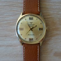 Wittnauer pre-owned Automatic 34mm Gold Plastic Not water resistant
