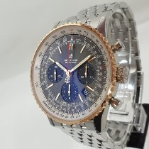 Breitling Navitimer 1 B01 Chronograph 43 pre-owned 43mm Grey Chronograph Date Steel