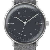Junghans max bill Damen Stal 32.7mm Szary
