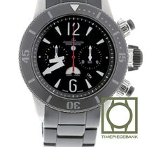 Jaeger-LeCoultre Master Compressor Diving Chronograph GMT Navy SEALs Titanio 44mm Negro Árabes