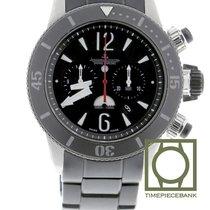 Jaeger-LeCoultre Master Compressor Diving Chronograph GMT Navy SEALs Titanium 44mm Black Arabic numerals