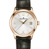 Jaeger-LeCoultre Master Control Date Rose gold 39mm Silver Arabic numerals