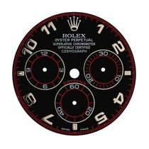 Rolex Daytona Racing Black/Silvered Arabic Numeral Original...