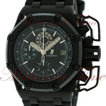 오드마피게 (Audemars Piguet) Royal Oak Offshore Survivor, Black...