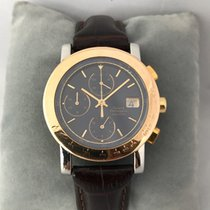Girard Perregaux 7000 GBM Gold Bezel Automatic Chronograph