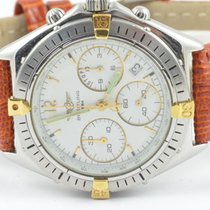 Breitling Tabarly Herren Uhr Vintage Uhr Stahl/gold Ref. 80770...